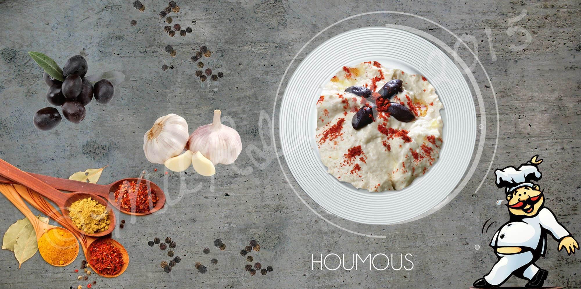 Houmous Salad